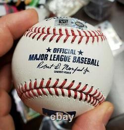 Mike Trout Signed Baseball Official major League Baseball Angels MLB COA