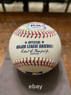 Mike Trout Signed Official Major League Baseball PSA DNA Coa Angels Autographed