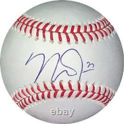 Mike Trout signed Rawlings Official Major League Baseball #27- JSA LOA #BB65501