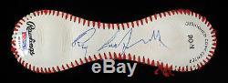 Mint Roy Campanella Signed Official National League Baseball Panel PSA DNA COA
