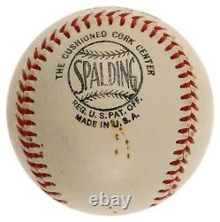 Mint Ty Cobb & Frank Baker Signed Official National League Baseball PSA DNA COA