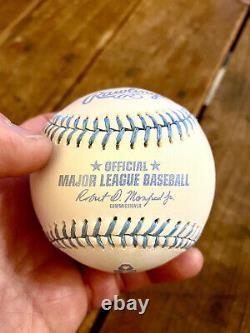 NEW Rawlings Fathers Day 2017 Official Major League Baseball Game Ball Blue MLB