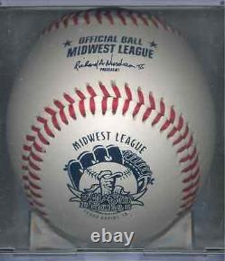 NEW Rawlings Official 2016 Midwest League All-Star Game Baseball Cedar Rapids IA