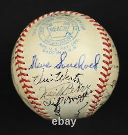Nice 1952 Detroit Tigers Team Signed Official American League Baseball