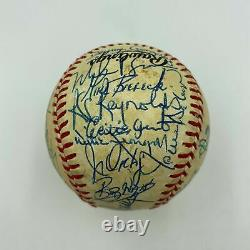 Nice 1985 Pittsburgh Pirates Team Signed Official National League Baseball