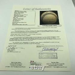 Nice Willie Mays Signed Official National League Baseball With JSA COA