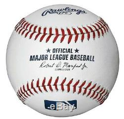 ONE DOZEN (12 Baseballs) OFFICIAL Major League Baseballs Robert Manfred