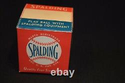 Official national league president ford frick spalding baseball in box