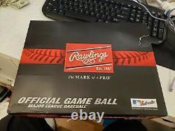 One Dozen Rawlings Official Major League Baseballs New MLB-ROMLB Manfred low BIN