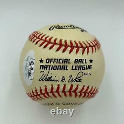 Oscar Robertson Big O Signed Official National League Baseball JSA COA