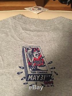 PHISH Fenway Park 2009 Major League Baseball POLLOCK OFFICIAL Unworn NEW T-Shirt