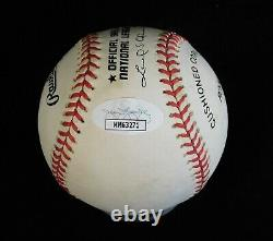 Pee Wee Reese Signed Official National League Baseball JSA Authenticated