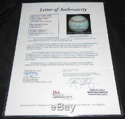 President Barack Obama Signed Official Major League Baseball, Jsa Coa