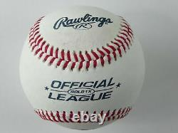 President Bill Clinton Autographed Baseball Rawlings Official League JSA LOA