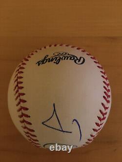 President Jimmy Carter signed Official Major League Baseball JSA LOA autographed
