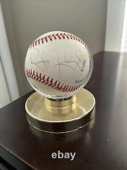 RUSH LIMBAUGH rare signed Official American League baseball