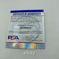 Rare Brett Favre #4 Rookie Era Signed Official National league Baseball PSA DNA