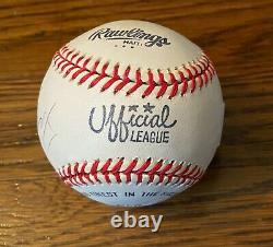 Rare Gambino Mob Boss JOHN GOTTI Signed Official League Baseball Authenticated