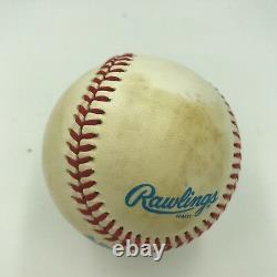 Rare Joe Collins Signed Official American League Baseball JSA COA NY Yankees