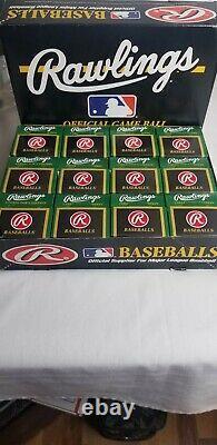 Rawlings Official American League Baseballs Gene Budig 1994-1999 One Dozen Major
