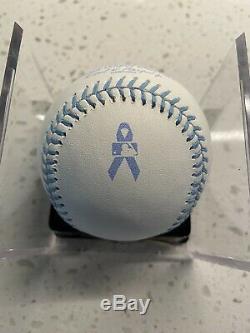 Rawlings Official Fathers Day Major League Baseball Blue Ribbon Logo