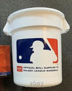 Rawlings Official League XL Bucket With Handles Holds 100+ Baseballs, 18 x 16
