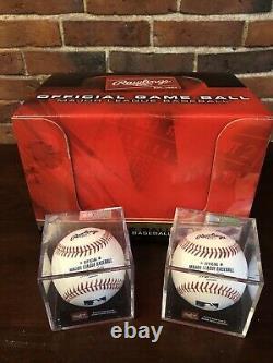 Rawlings Official Major League Baseball Dozen Baseballs in cases- MLB NEW