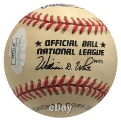 Richard Kiel Jaws Autographed Official National League Baseball (JSA)