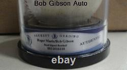 Roger Maris Hand Signed Auto Baseball Rawlings Official League Ball Beckett BGS