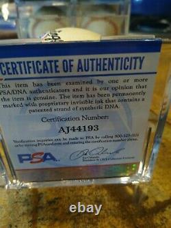Ron Santo Signed Baseball Autograph Auto Official National League Ball PSA/DNA