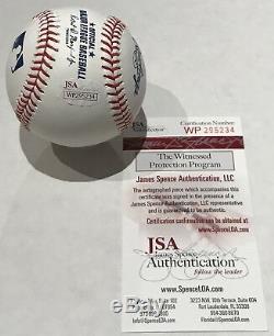 Ronald Acuna Full Name Signed Official Major League Baseball Jsa Witness Coa
