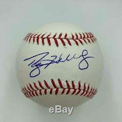 Roy Halladay Signed Autographed Official Major League Baseball With JSA COA