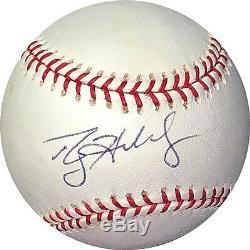 Roy Halladay signed Rawlings Official Major League Baseball- JSA LOA #BB58021