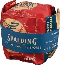 SEALED IN UNOPENED BAG Late 1940s Official National League Baseball FRICK RARE