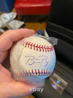 San Fransisco Giants Buster Posey Signed Official Major League Baseball