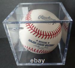 Sandy Koufax Signed Rawlings Official Baseball Of Major League Baseball