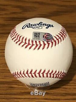 Sandy Koufax Signed Rawlings Official Major League Baseball HOF logo MLB Holo