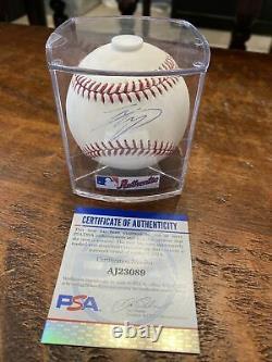 Shohei Ohtani Signed Official Major League Baseball PSA DNA Coa Angels Japan