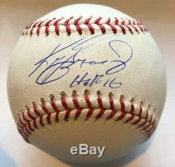Signed Ken Griffey, Jr HoF'16 Official Major League Baseball TRISTAR