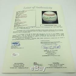 Stunning Earl Averill Single Signed Official National League Baseball JSA COA