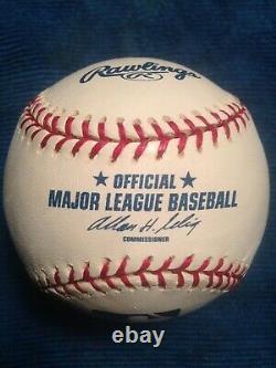 TREVOR HOFFMAN Signed OFFICIAL MAJOR LEAGUE Baseball Auto AUTOGRAPH SD PADRES