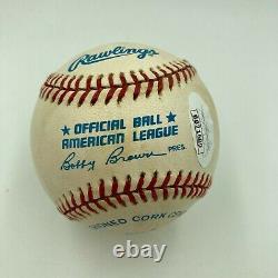 Ted Williams Signed Autographed Official American League Baseball JSA COA