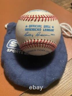 Ted Williams Signed Official American League Baseball Boston Red Sox HOF