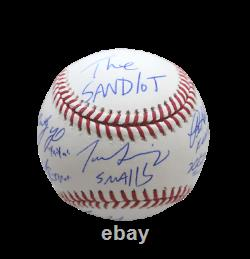 The Sandlot Cast (6) Signature Signed OMLB Official Major League Baseball JSA
