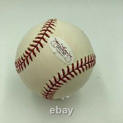 Tom Brady Signed Autographed Official Major League Baseball JSA Sticker