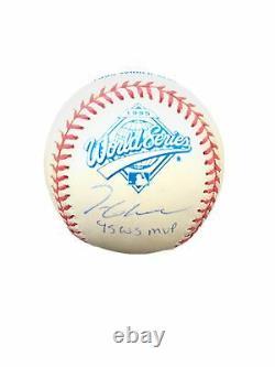 Tom Glavine (1995 World Series Mvp) Official Major League Signed Baseball Jsa