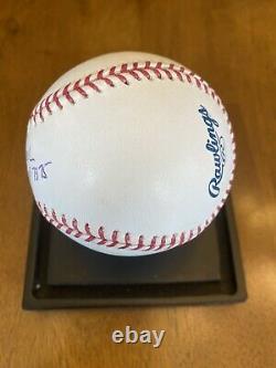 Tom Seaver Signed Autographed Official Major League Baseball Mets HOF CY