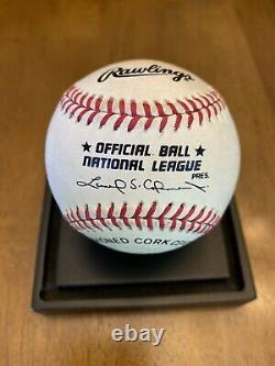 Tom Seaver Signed Autographed Official National League Baseball Mets