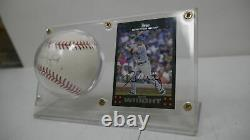 Topps New York Mets Official Major League Baseball AUTOGRAPHED by David Wright