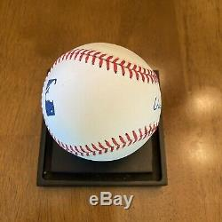 Vin Scully Signed Autographed Official Major League Baseball Dodgers